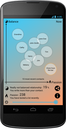 screenshot lovescore